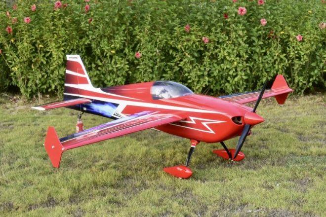 "NEW  Skywing 91"" Edge 540-V2-A RED Printed"